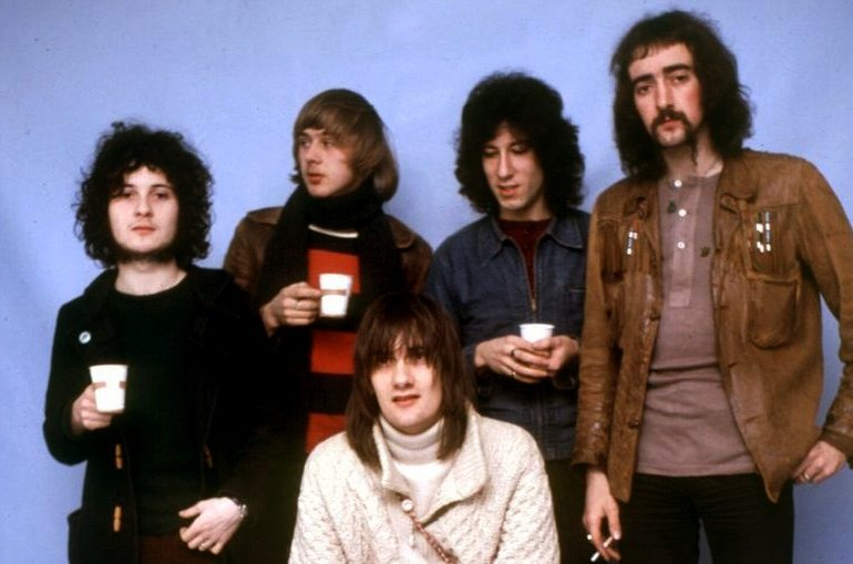 Fleetwood Mac 1969 - Mick Fleetwood John McVie Jeremy Spencer Danny Kirwan Peter Green-001