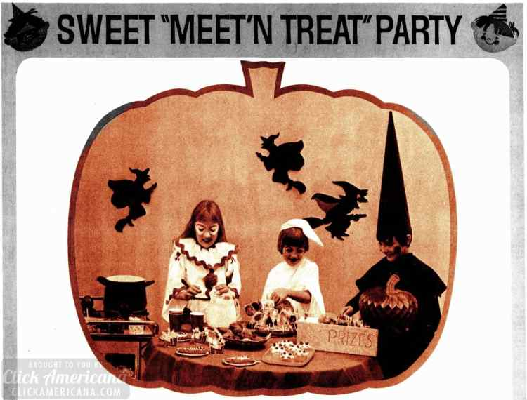 Have a safe, kid-friendly Meet 'n Treat Halloween party - 1976