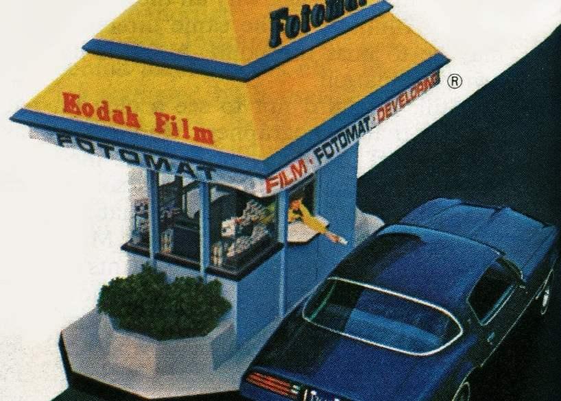 Fotomat photo hut 1977