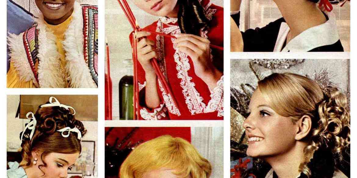 Happy holiday hairstyles of the '60s (1968)