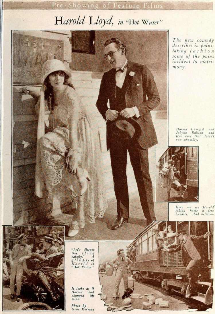 Harold Lloyd in Hot Water - Silent movies - Vintage films