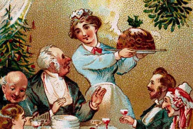 How to eat a Christmas dinner Advice from 1911 (2)