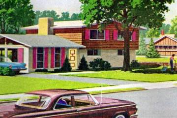 Idyllic scenes from Philadelphia's suburbs in 1962
