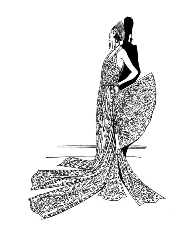 Vintage coloring pages 1950s ~ Click Americana's Shop - See cool fashions, vintage ...