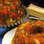 Jell-O harvest ring salad recipe (1979)