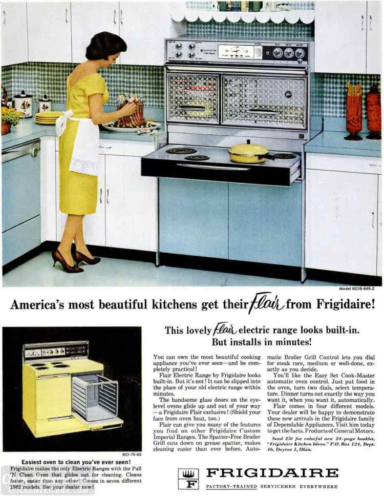 June 15, 1962 Flair ranges for the '60s kitchen