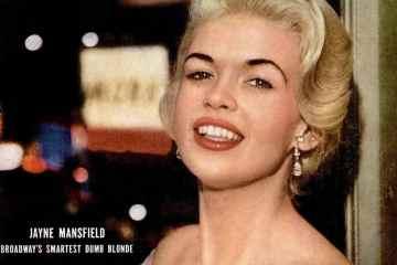 LIFE Apr 23, 1956 Jayne Mansfield cover