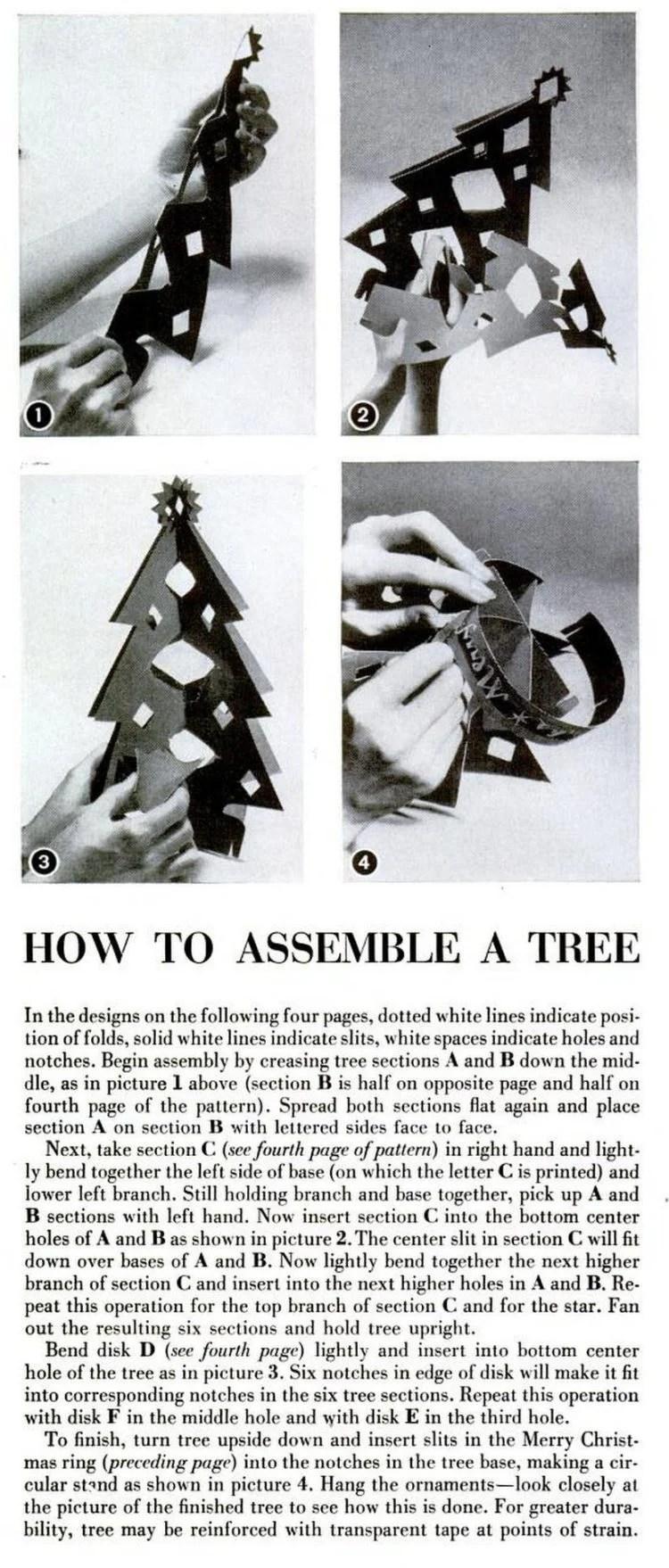 LIFE Dec 25, 1950 christmas decorations crafts 2