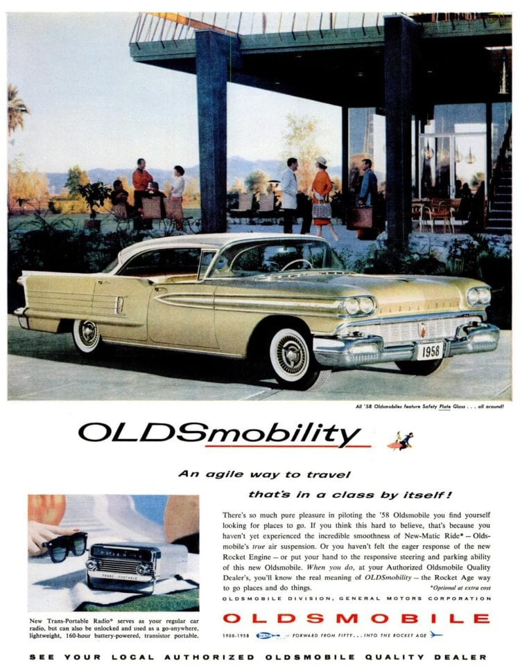 LIFE Feb 24, 1958 oldsmobile cars