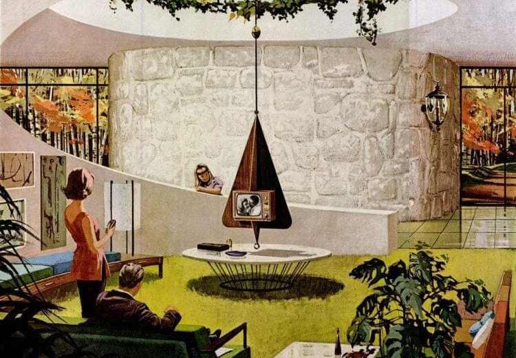 Undefined Space Age Retro Futuristic Homes