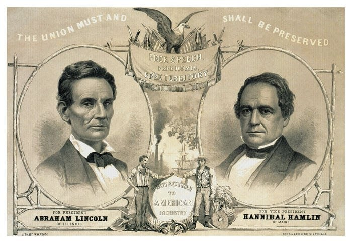 Lincoln for President 1860