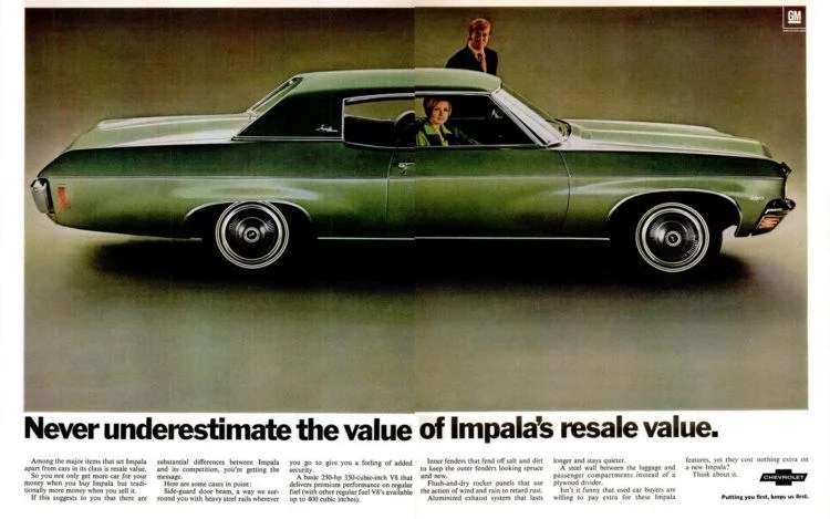 Look back at the '70 Chevy Impala