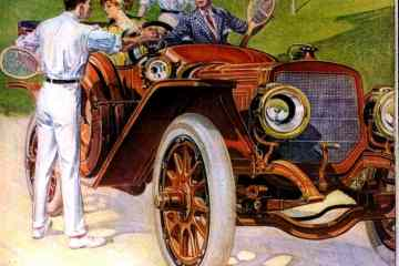 Lozier Touring Car for 1912 - from 1911 - Classic automobiles-001