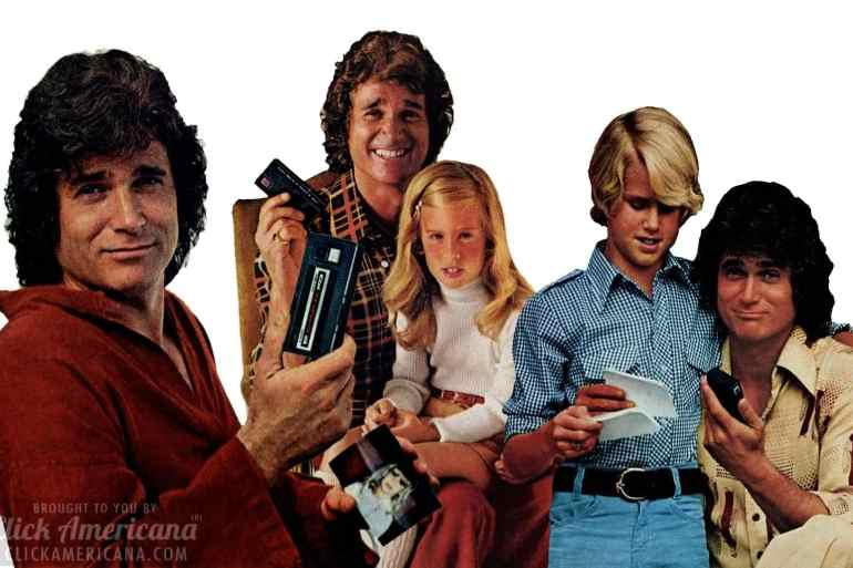 Michael Landon for Kodak cameras - 1977