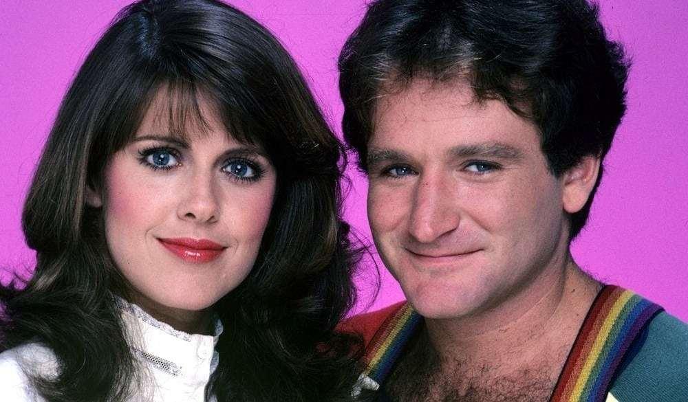 Pam Dawber, Robin Williams
