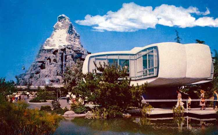 The Retro Modern Space Age House Monsanto S Home Of The