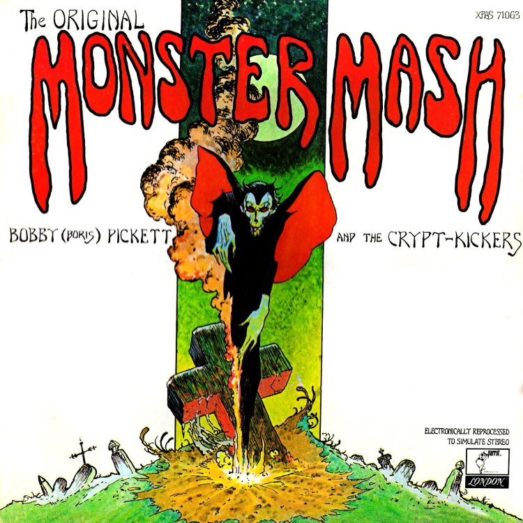 Monster Mash album cover