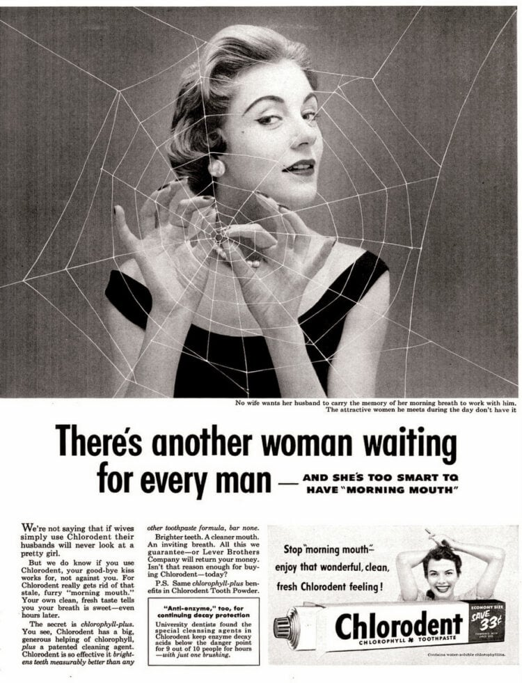 Image result for sexist ads 1950s