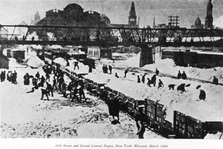 NY blizzard March 1888