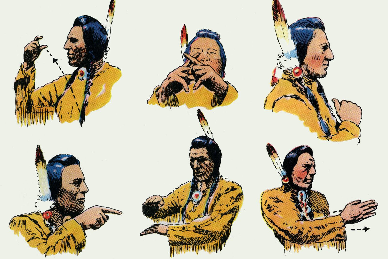 Native American Sign Language Illustrated Guides To 400