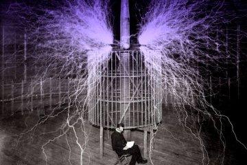 Nikola Tesla electricity