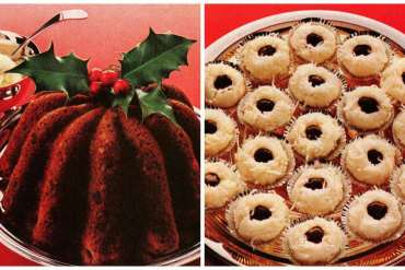 Old-fashioned Christmas recipes for a classic carrot pudding coconut joy cookies (1979)