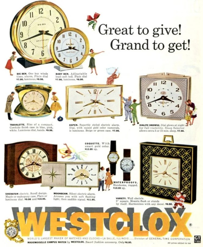 Vintage Alarm Clocks We Woke Up To