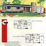 Original vintage exteriors and floor plans for American houses built in 1958 - at Click Americana (24)