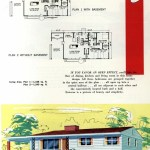 Original vintage exteriors and floor plans for American houses built in 1958 - at Click Americana (25)