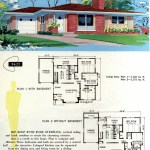 Original vintage exteriors and floor plans for American houses built in 1958 - at Click Americana (28)