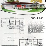 Original vintage exteriors and floor plans for American houses built in 1958 - at Click Americana (35)
