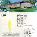 Original vintage exteriors and floor plans for American houses built in 1958 - at Click Americana (8)