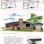 Original vintage house plans for American suburban homes built in 1953 - at Click Americana (2)