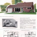 Original vintage house plans for American suburban homes built in 1953 - at Click Americana (7)