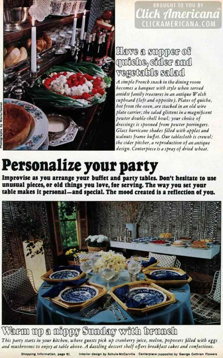 Personalize your party
