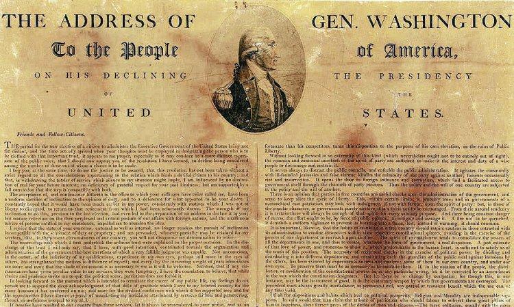 President-George-Washington's Farewell Address