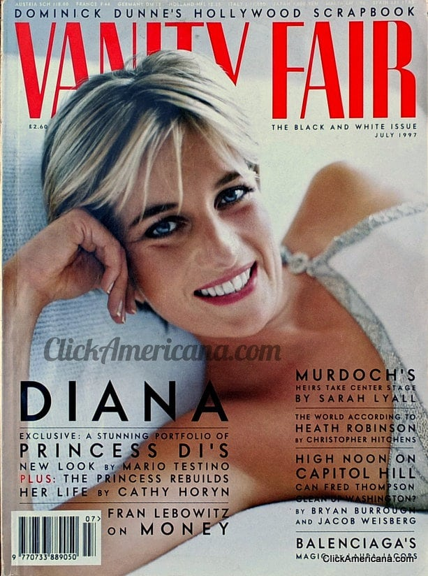 princess diana on american magazine covers click americana