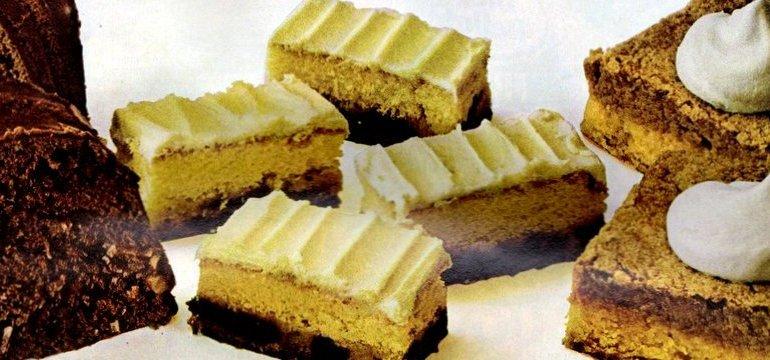 Pumpkin Bars, Coconut Choco-Swirl & Date Bar Cake 1971