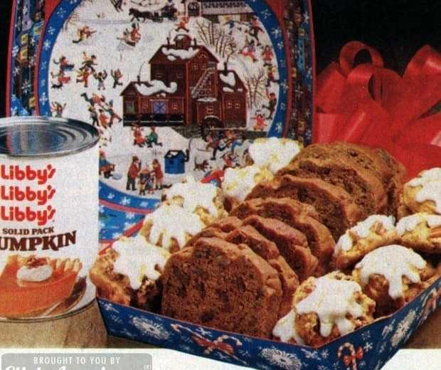 Pumpkin spice cookies pumpkin nut bread 1982 click americana undefined forumfinder Choice Image