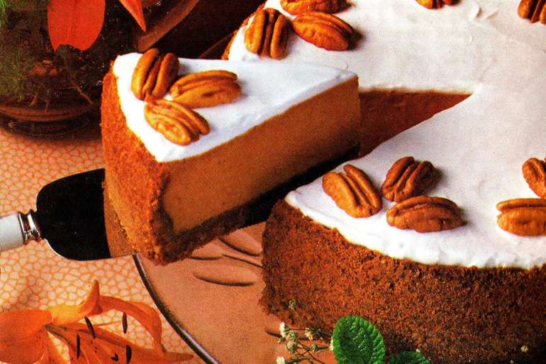 Pumpkin recipes from 1977 - Libby's Southern Delight pumpkin cheesecake
