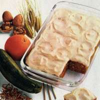 Kellogg's Orange zucchini cake (1982)