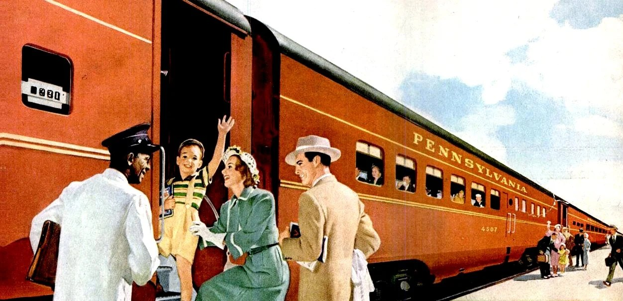 Ride The Rails In Style Train Cars From The 1940s Click