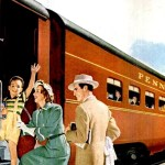 Ride the rails in style Train cars from the 1940s