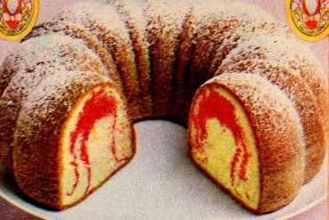 Ruby Slipper Bundt cake recipe (1978)