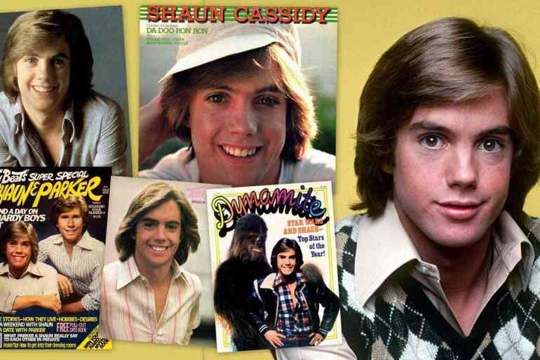 Shaun Cassidy collage 1977