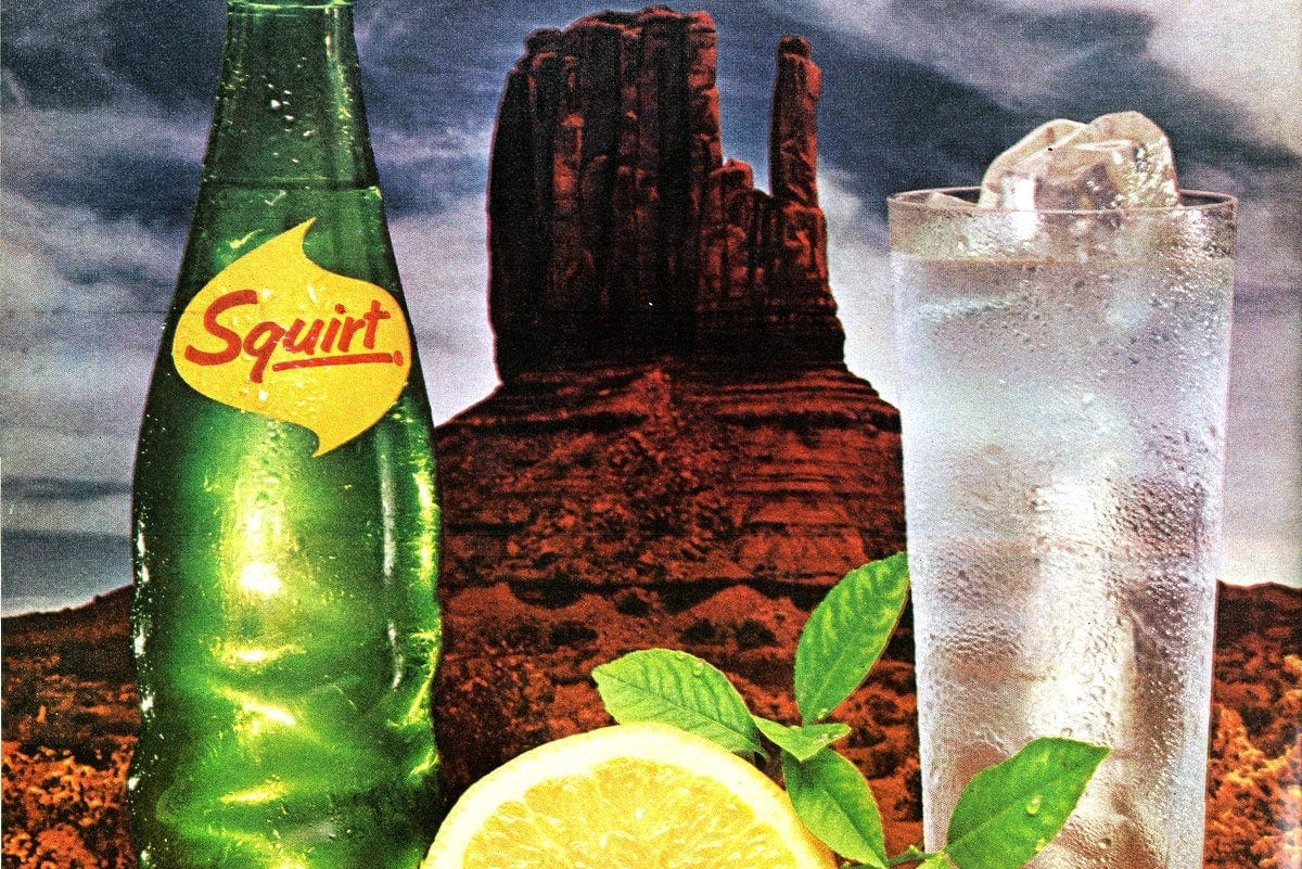 Squirt Soda Wasn T Sweet Like Other Soft Drinks Plus