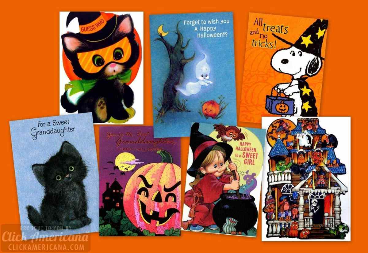 Super-cute ways to say boo: 15 vintage Halloween cards for kids from the '70s & '80s