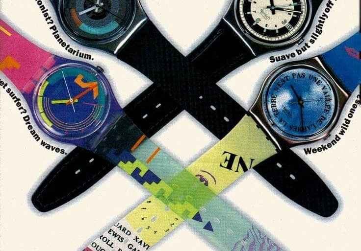 Swatch The New Wave Of Watches 1980s
