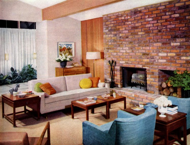 Take a look around this mid-century modern model home from 1958 Scholz Mark 58 Home of the Year (1)