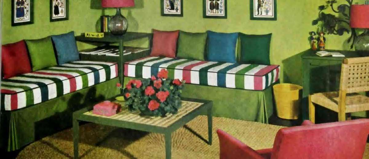 Modern career girl? Here\'s how to decorate your apartment! (1948 ...